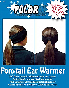 Hot Headz Ponytail Fleece Ear Warmer Headband