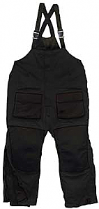 Arctic Armor Floating Bibs Black (Small - 3X)