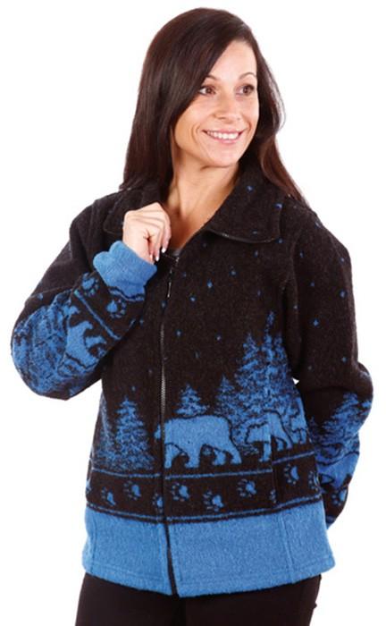 Twilight Black Bears Ultra Plush Fleece Jacket