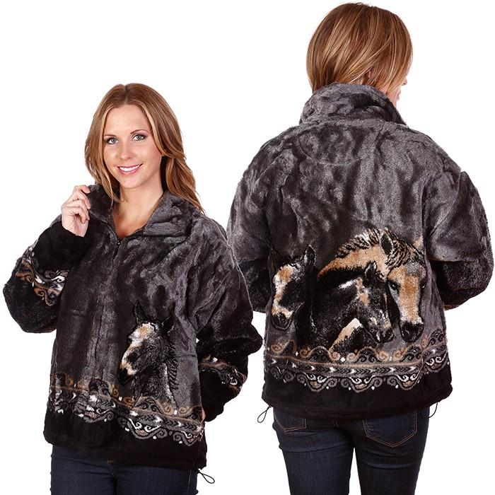 Bear Ridge Made in USA Horse Jacket