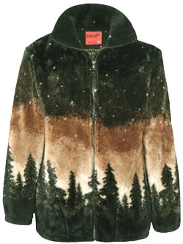 3X Black Mountain Twilight Moose Ultra Plush Fleece Horse Jacket New  Sm
