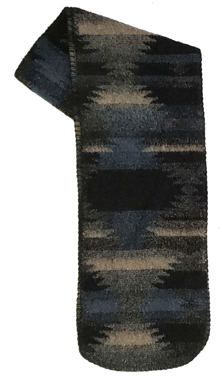 Corrales Southwestern Fleece Scarf Made USA