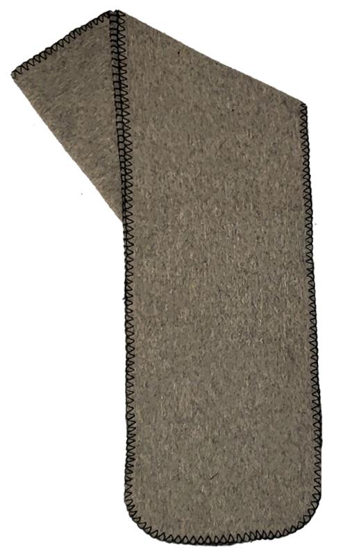 Clearance Light Gray Fleece Scarf