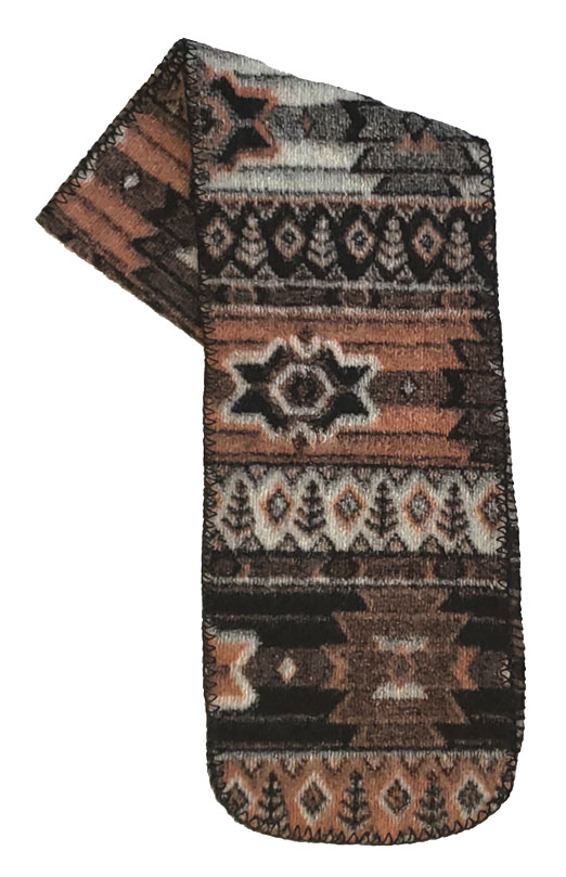Sedona Southwestern Fleece Scarf Made USA