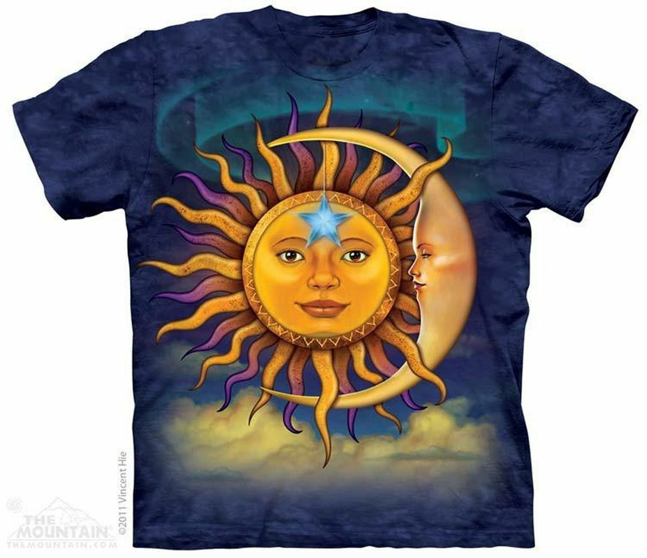 The Mountain Sun Moon T-Shirt (Md)
