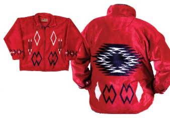 Angel Fire Plush Fleece Jacket (Sm)