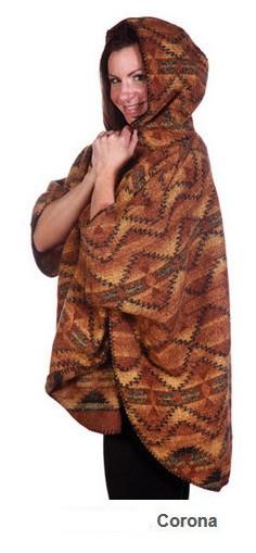 Womens Corona Berber Cape with Hood