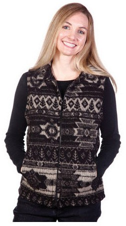 Diablo Southwest Looped Wool Fleece Cinchbach Vest
