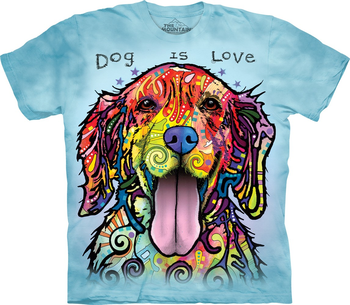 The Mountain Dog is Love Tee Shirt Dean Russo