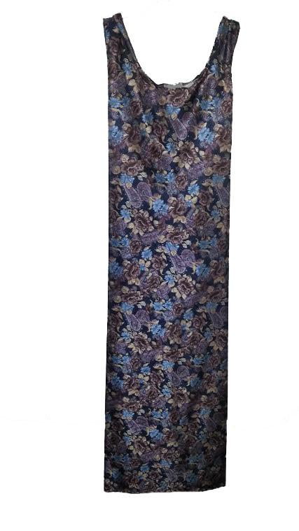 Blue Floral Sundress (Sm - 2X)