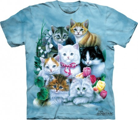 Kittens & Flowers Shirt