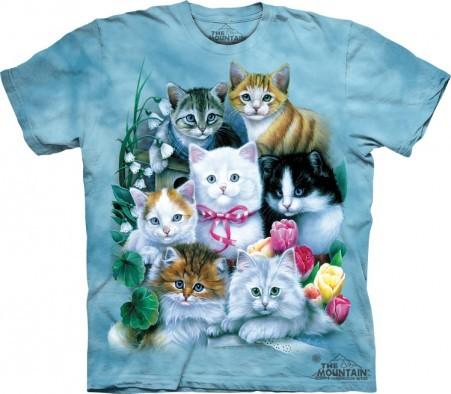 Kittens & Flowers Shirt
