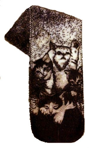 Kittens Plush Fleece Scarf