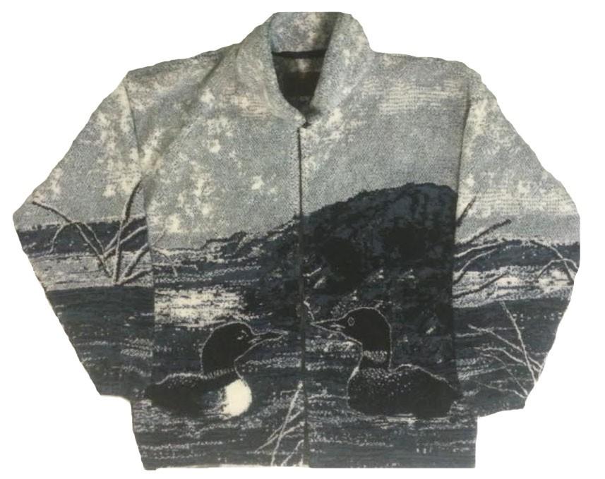Loon Plush Fleece Jacket (Sm)