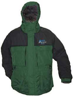 Arctic Armor Plus Floating Extreme Ice Fishing Snowmobiling Jacket Green