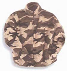 Camo Berber Fleece Jacket Junior (10-16)