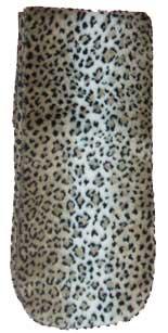 Clearance Leopard Print Plush Fleece Scarf