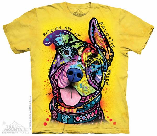 Rescues Are My Favorite Breed Dog Tee Shirt