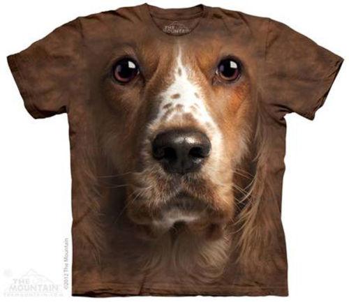 The Mounain Welsh Springer Spaniel Cocker Face T-Shirt
