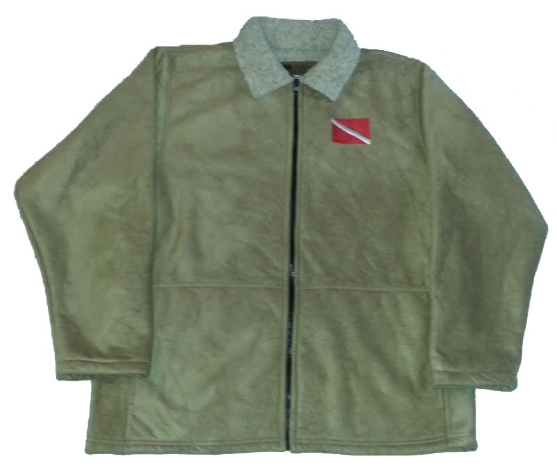 Clearance Sale Scuba Diving Microsuede Jacket Adult (Sm - Lg)