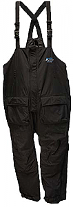 "Arctic Armor ""Light"" Floating Bibs Black (Sm - 3X)"