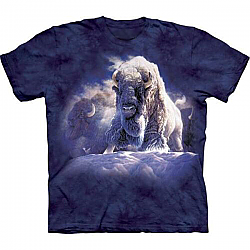 The Mountain Divine Presence Buffalo Bison Native American T-Shirt (Sm, Lg)