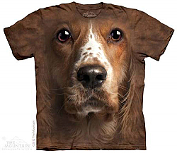 The Mounain Welsh Springer Spaniel Cocker Face T-Shirt