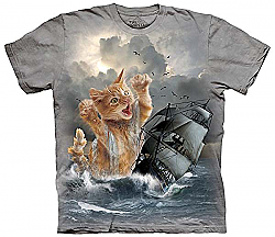 The Mountain KraKitten Kraken T-Shirt