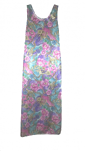 Pink Floral Sundress (Sm - Xl)