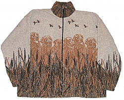 Labrador Retriever Lab Golden Dog Berber Fleece Jacket (Lg - 2X)