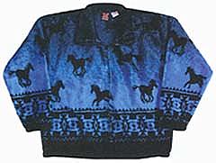 Hombre Horse Plush Fleece Jacket - Junior (10-16)