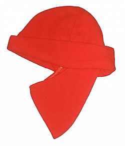 Clearance Nordic Gear Scent-Lok Blaze Orange Fleece Hat with Facemask - Made USA