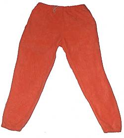 Clearance Blaze Orange Fleece Pants Adult (Large) Made USA