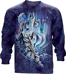 The Mountain Find 10 Wolves Long Sleeve T-Shirt (LG)