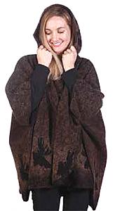 Bear Ridge Moose Washable Looped Wool Hooded Cape