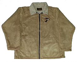 Clearance Sale Wood Duck Microsuede Jacket Adult (Med - 2X