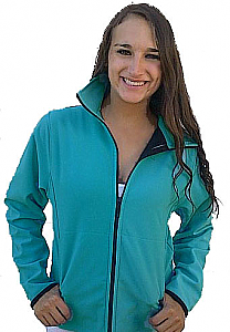 Windproof Waterproof Cinchback Jacket (Black, Red, Turquoise,Tan, Plum) Xs - 4x