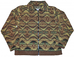 Corona Looped Wool Cinchback Southwestern Jacket by Bear Ridge