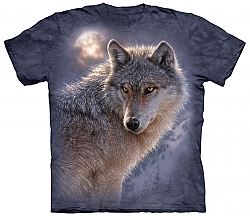The Mountain Adventure Wolf Timber Wolf T-Shirt (3X)