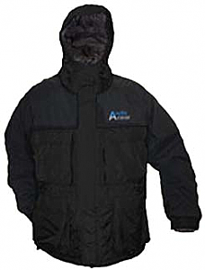 Arctic Armor Floating Extreme Weather Ice Fishing Snowmobiling Jacket Black (Sm - 3x)