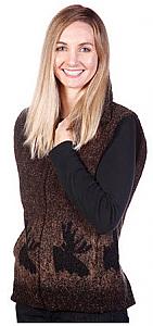 Moose Looped Wool Fleece Cinchbach Vest