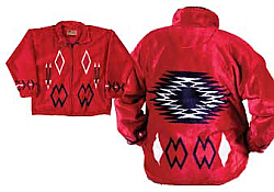 Angel Fire Plush Fleece Jacket (Sm)