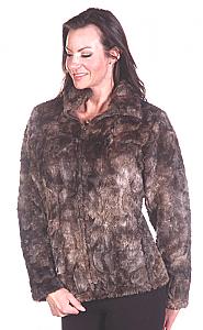 Andrea Faye Victoria Adult Boa Cinchback Jacket (XS-4X)