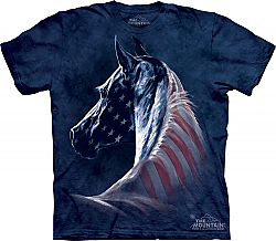 Patriotic Horse Head Shirt