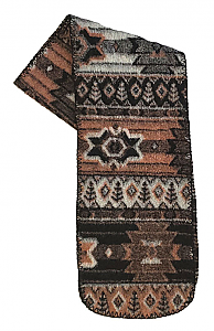 Sedona Southwestern Fleece Scarf Made USA