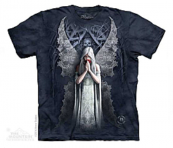 The Mountain Only Love Remains Angel Fantasy Skull Gatekeeper Fairy Adult TShirt SM-5X