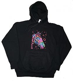 Funky Horse Dean Russo Hoodie Hooded Sweatshirt