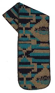 Santa Fe Aztec Southwestern Fleece Scarf