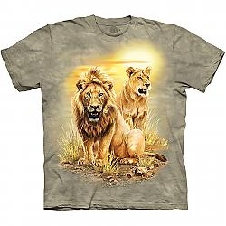 The Mountain Roaring Lion Long Sleeve T-Shirt (Sm - 3X)   (CLONE)