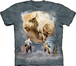 The Mountain White Buffalo Shield T-Shirt New (3x)